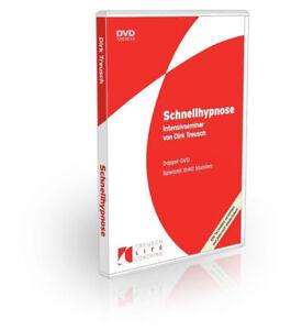 Hypnose lernen: Blitzhypnose-Schnellhypnose  für Coaching-Therapie-...-2-DVD-Box