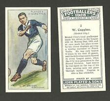 Type Cards: Players FOOTBALLERS 1928, EX condition