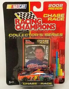 Nascar racing champions race car 1/64 scale Terry Labonte #5 w extra car gift