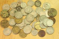 LOT 50 pcs SOVIET KOPEKS BEFORE 1957 STALIN COINS