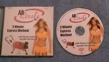 Ab Circle Pro 3 Minute Express Workout w/ Jennifer Nicole Lee (2008 DVD) fitness