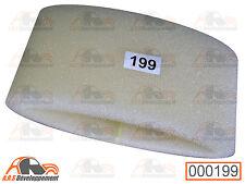 Mousse pour filtre à air plastique NM de citroen 2cv mehari dyane - 199 -