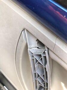VW New Volkswagen Beetle stainless interior door handle repair fixing kit