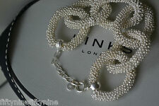 Nuovi legami di Londra argento Sterling effervescenza STAR INTER Bracciale £ 550