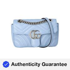 Gucci GG Marmont Mini Matelasse Cuero Bolso de Hombro para Mujer