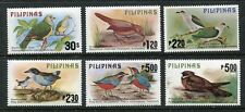 Philippines 1392-1397,MNH. Michel 1270-1275. Birds 1979:Dove,Tit babbler,Pigeon,