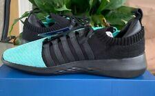 K-SWISS GEN-K Icon Knit Athletic Sneaker Black/Cockatoo Men's Size 9
