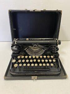 Antique Underwood Standard Portable Typewriter USA Made