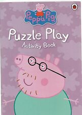 Peppa Pig Puzzle Play Activity Book