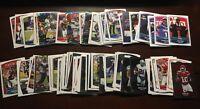2018 PANINI NFL football 4 MYSTERY stickers card lot 1 foil guaranteed