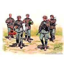 GERMAN ELITE INFANTRY, EASTERN FRONT 5 FIG WWII 1/35 MASTER BOX 3583 DE