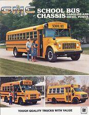 1983 GMC Cowl Forward Control Chassis Vandura School Bus Sales Brochure