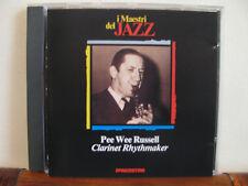 PEE WEE RUSSELL clarinet rhythmaker-CD-fuori comm.Maestri del Jazz-De Agostini-