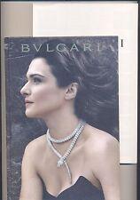 BULGARI *catalogo: gioielli, orologi, borse* (completo di fascicolo) *2012*