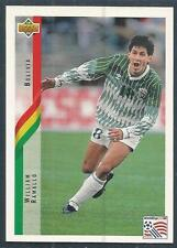 UPPER DECK WORLD CUP USA 1994- #182-BOLIVIA-WILLIAM RAMALLO