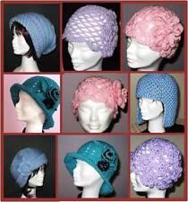 5 ORIGINAL Versatile Crochet and Knitting Hat Patterns