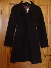 H&M Mantel Herbstmantel Wintermantel schwarz Größe 34 XS ***NEU***