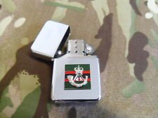 Rifles TRF and badge petrol lighter (Star)