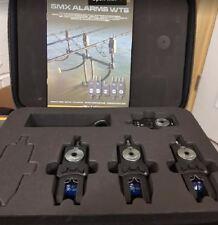 Prologic PL SMX Alarms WTS 3+1 BLUE SET In Carry Case New 51197