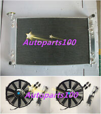 Alloy Radiator + Fans Holden Commodore  VT VU VX HSV V6 3.8L 97-02 petrol 2-OIL