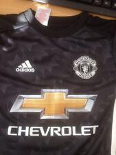 MANCHESTER UNITED Adidas BOYS 7- 8 Away Shirt ANDER HERRERA  NEW