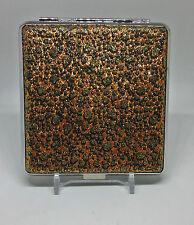Fujima Double Sided Glitter Stone Design PU Leather King Size Cigarette Case