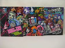 3 Books- Meet the Monsters, We are Monster High, & My Monster Life (Hardcover)