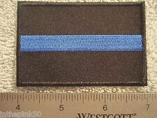 Thin Blue Line Embroidered Patch Support 911 Police Heroes TBL Patch Cops New