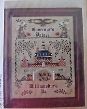 BETTY CAITHNESS 1991 WILLIAMSBURG GOVERNOR PALACE HERITAGE PAINTING PATTERN
