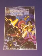 TEENAGE MUTANT NINJA TURTLES #32 (1990) MIRAGE STUDIOS EASTMAN & LAIRD 1ST PRINT