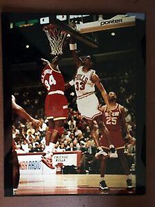 1990's Scottie Pippen CHICAGO BULLS 11 x 14 - Type 1 Photo!