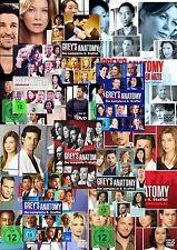 GREY'S GREYS ANATOMY 1-13 KOMPLETTE DVD STAFFEL 1 2 3 4 5 6 7 8 9 10 11 12 13