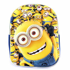 Despicable Me Minions Dave 3d Backpack Rucksack Childrens Holiday School Bag