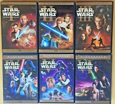STAR WARS COMPLETE SAGA ON DVD 12 DISCS ORIGINAL THEATRICAL VERSIONS WIDESCREEN