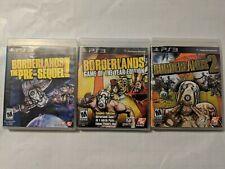 PS3 Borderlands (GOTYE), Borderlands 2, Borderland Pre-Sequel (3  Games)    #11
