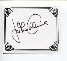 Jackie Collins Famous Romance Author Signed Autograph Bookplate