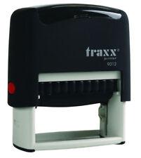 TRAXX 9012 (ideal 80 Size) Custom 4 Line Return Address Self Inking Rubber Stamp
