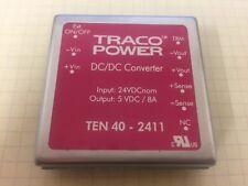 Part # TEN 40-2411 x1 TracoPower DC-DC Converter RS part #458-1137