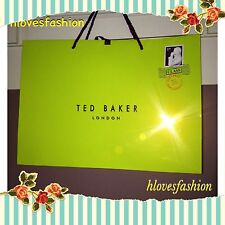 ✨💚TED BAKER Shopping Bag Present Carrier Bag LARGE46cm Gift PackagingFAST🆓📮💚