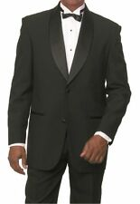 Men's Brand New Shawl Lapel 2-Button Tuxedo Suit with Pants Black, White T822