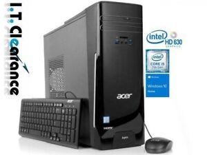 Acer TC-780 Intel i5-7400 3.0GHZ  2TB+128GB SSD 16GB  GT720 WIFI/BT/WIN10/OFFICE