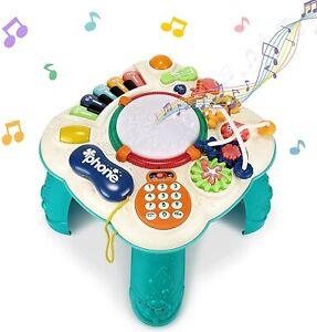 Musik Spieltisch,Babyspielzeug,Lernspielzeug,Geräuschen Spielzeung
