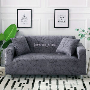 Elastic 1/2/3/4 Seaters Sofa Covers Dustproof Protector Couch Slipcover Decor