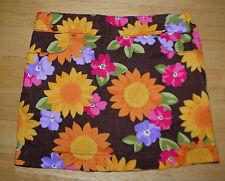 GYMBOREE SUNFLOWER SMILES CORDUROY FLOWER SKIRT GIRLS 3 WINTER FALL