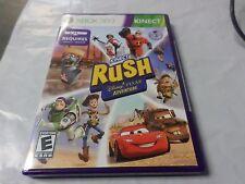 Kinect Rush: A Disney Pixar Adventure Game Brand New SEALED Microsoft Xbox 360