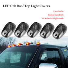 5xLED Cab Roof Top Marker Running Light Truck SUV Pickup Off Road  Smoked WHITE