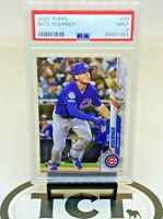 2020 Topps Series 1 MLB Baseball Nico Hoerner RC PSA 9 Cubs