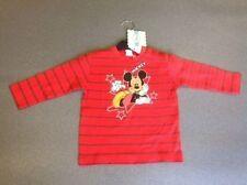 T-shirts, débardeurs et chemises rouge Disney pour garçon de 2 à 16 ans