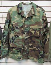 New USGI Issue Ripstop Woodland Camouflage Combat Coat MR