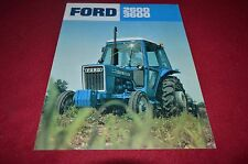 Ford 2600 3600 Tractor Dealer's Brochure BWPA